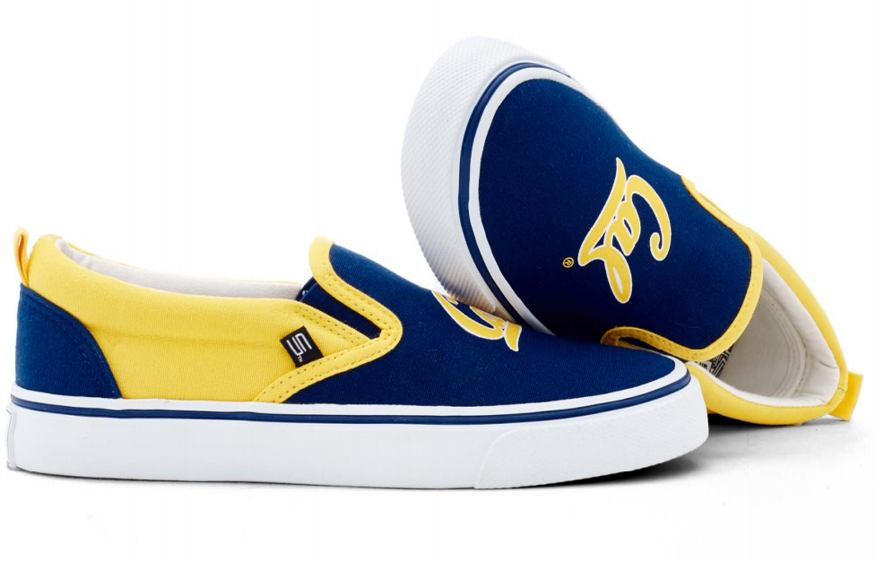 "University of California Berkeley Unisex ""Cal"" Slip on Shoes"