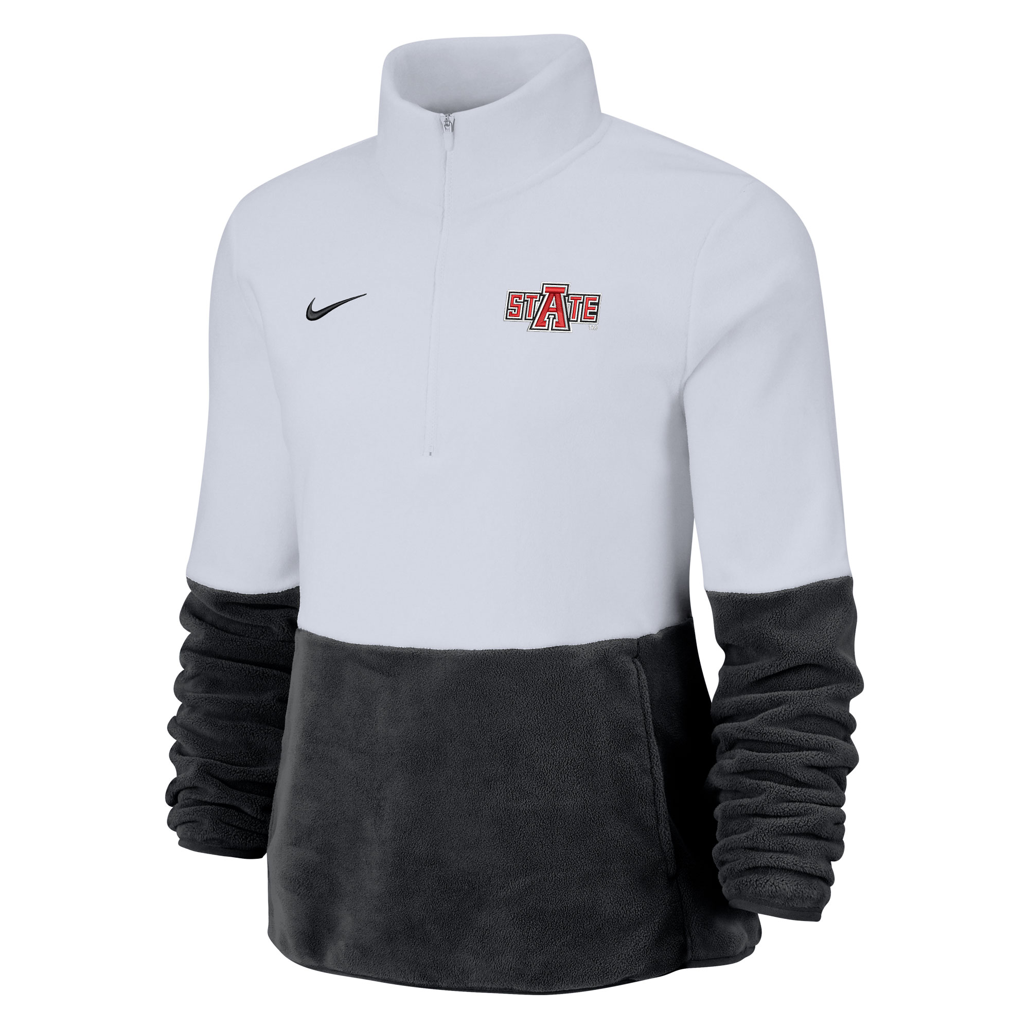 Arkansas State Women's Micro Fleece Half Zip Pull Over