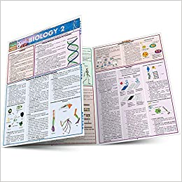 QuickStudy   Biology 2 Laminated Study Guide