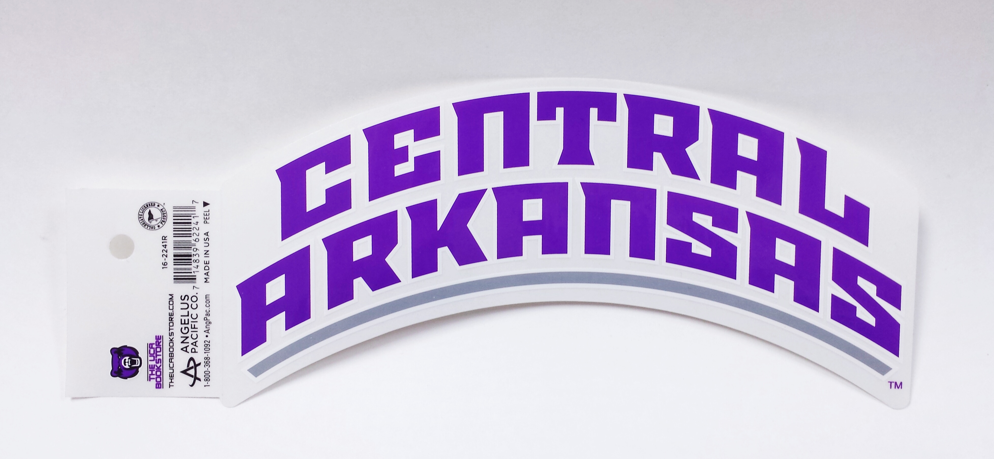 Arched Central Arkansas Decal