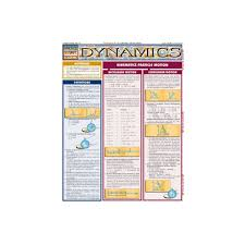 QuickStudy Dynamics Laminated Study Guide