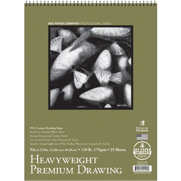 Heavyweight Premium Drawing Pad 9x12
