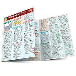 QuickStudy Inorganic Chemistry Laminated Study Guide