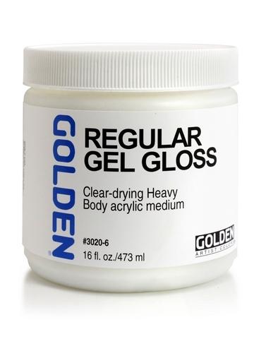Golden Regular Gel Gloss