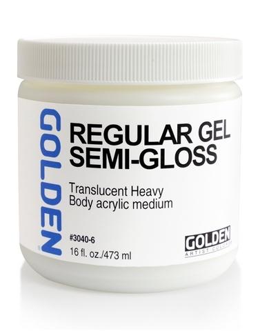 Golden Regular Gel Semi-Gloss