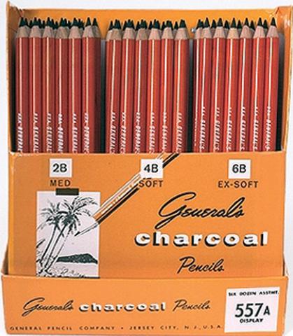 General's Charcoal Pencils