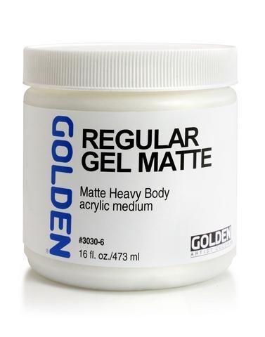 Golden Regular Gel Matte