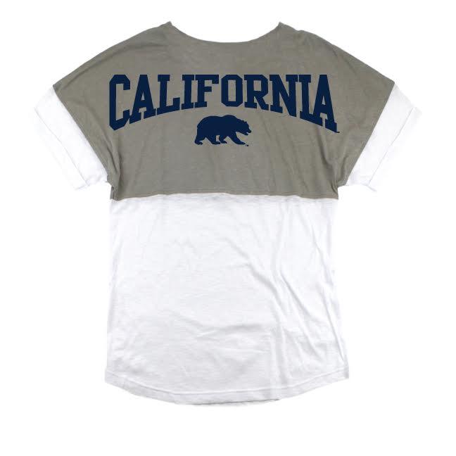 University of California Berkeley Boxercraft SS Fashion Pom Pom