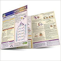 QuickStudy Molecular Biology Laminated Study Guide