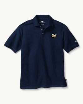 Cal Bears Tommy Bahama Men's Emfielder Core Polo