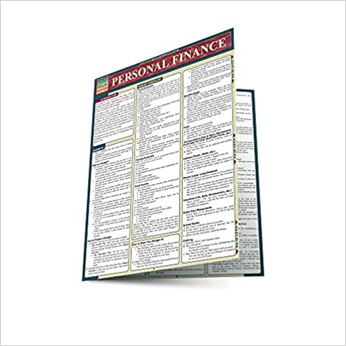 QuickStudy Personal Finance Laminated Reference Guide