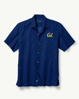 Cal Bears Tommy Bahama Men's Luau Floral Button Up