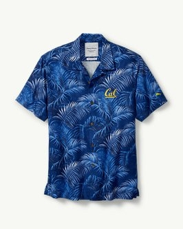 Cal Bears Tommy Bahama Men's Fez Fronds Core Button Up