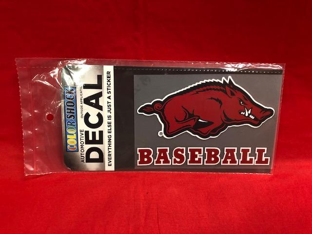 Hog Baseball Decal