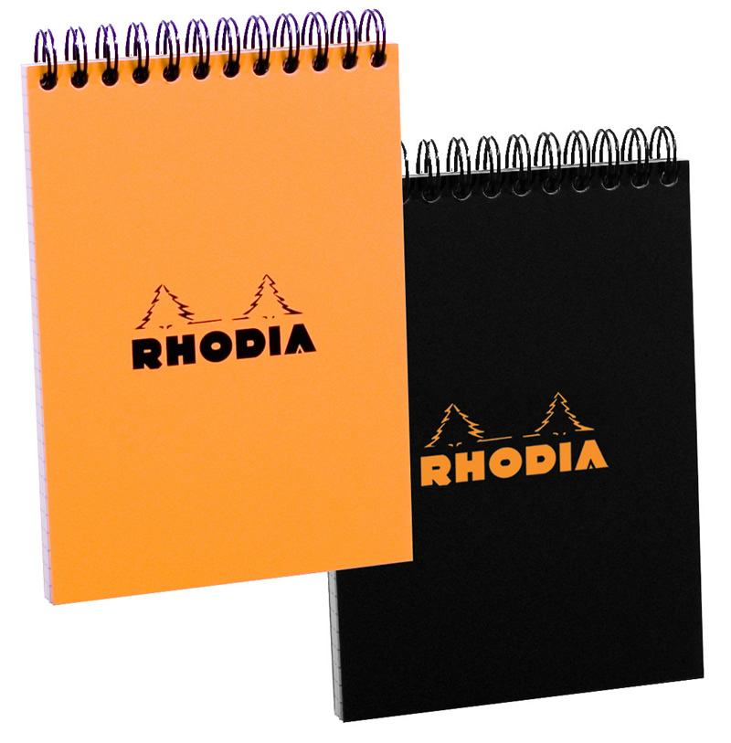 Rhodia Wire Bound Lined Pad 8.3 x 11.7