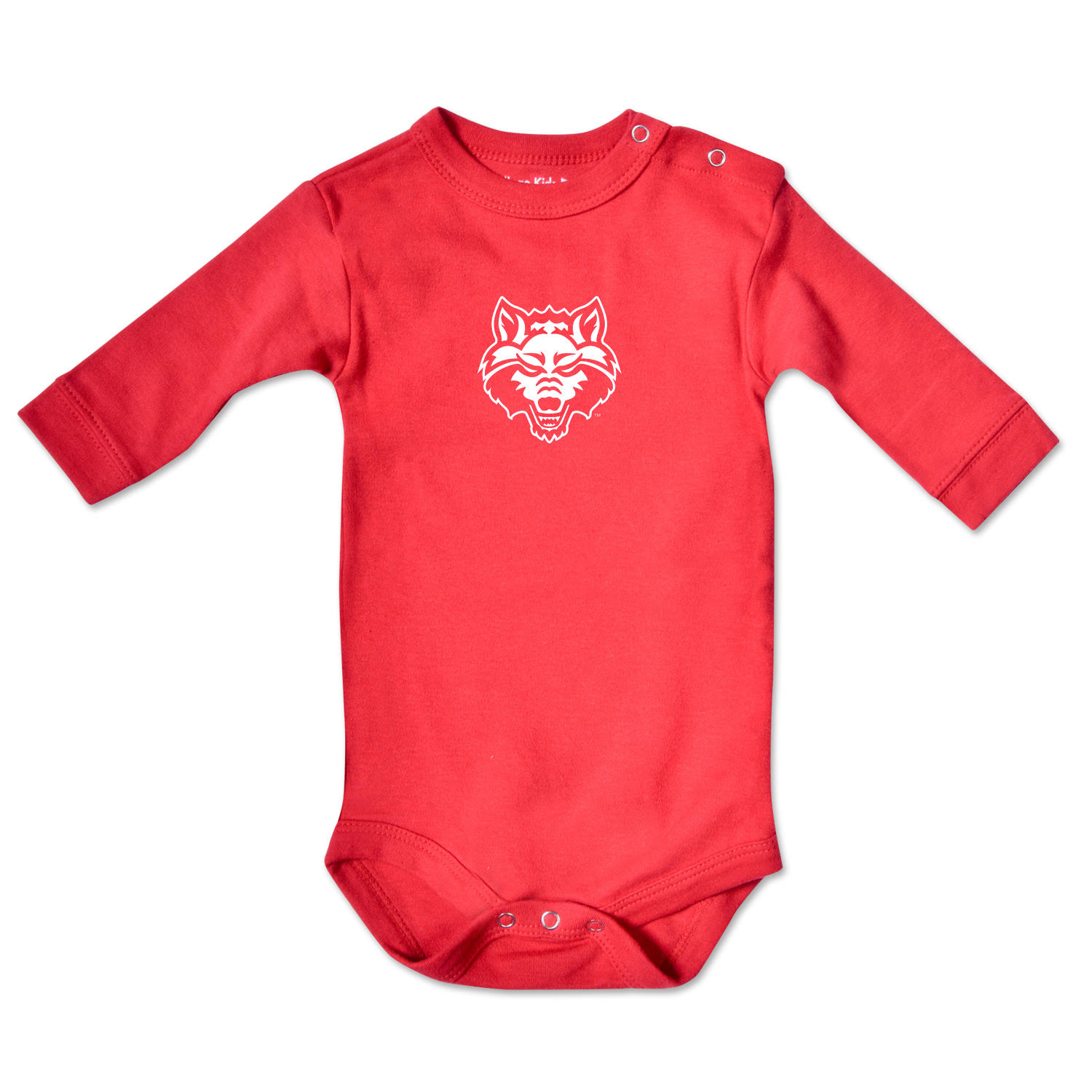 Arkansas State Infant Long Sleeve Bodysuit