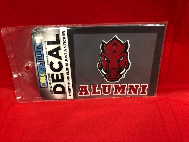 FF Hog Alumni Decal