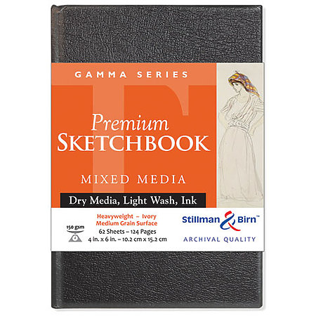 Gamma Series Mixed Media Hard-Cover Sketchbook