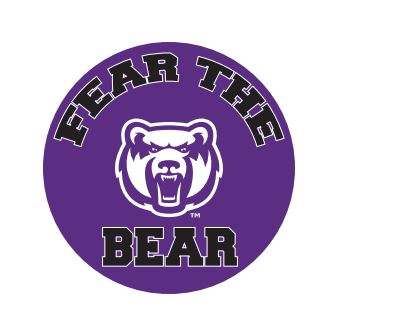Fear The Bear Button Magnet