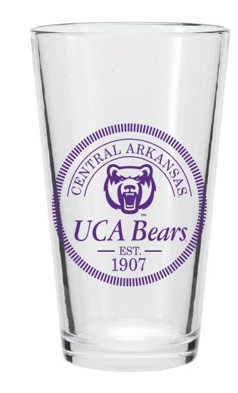 UCA Bears Pint Glass