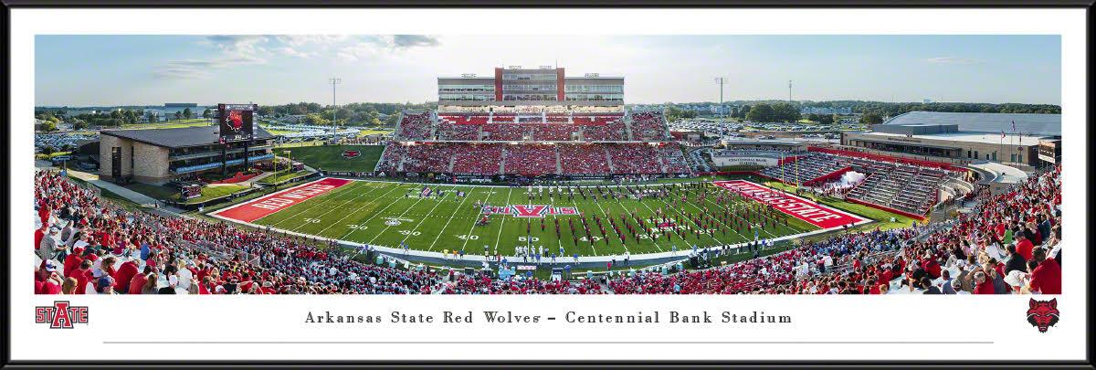Arkansas State Football Standard Frame Panorama