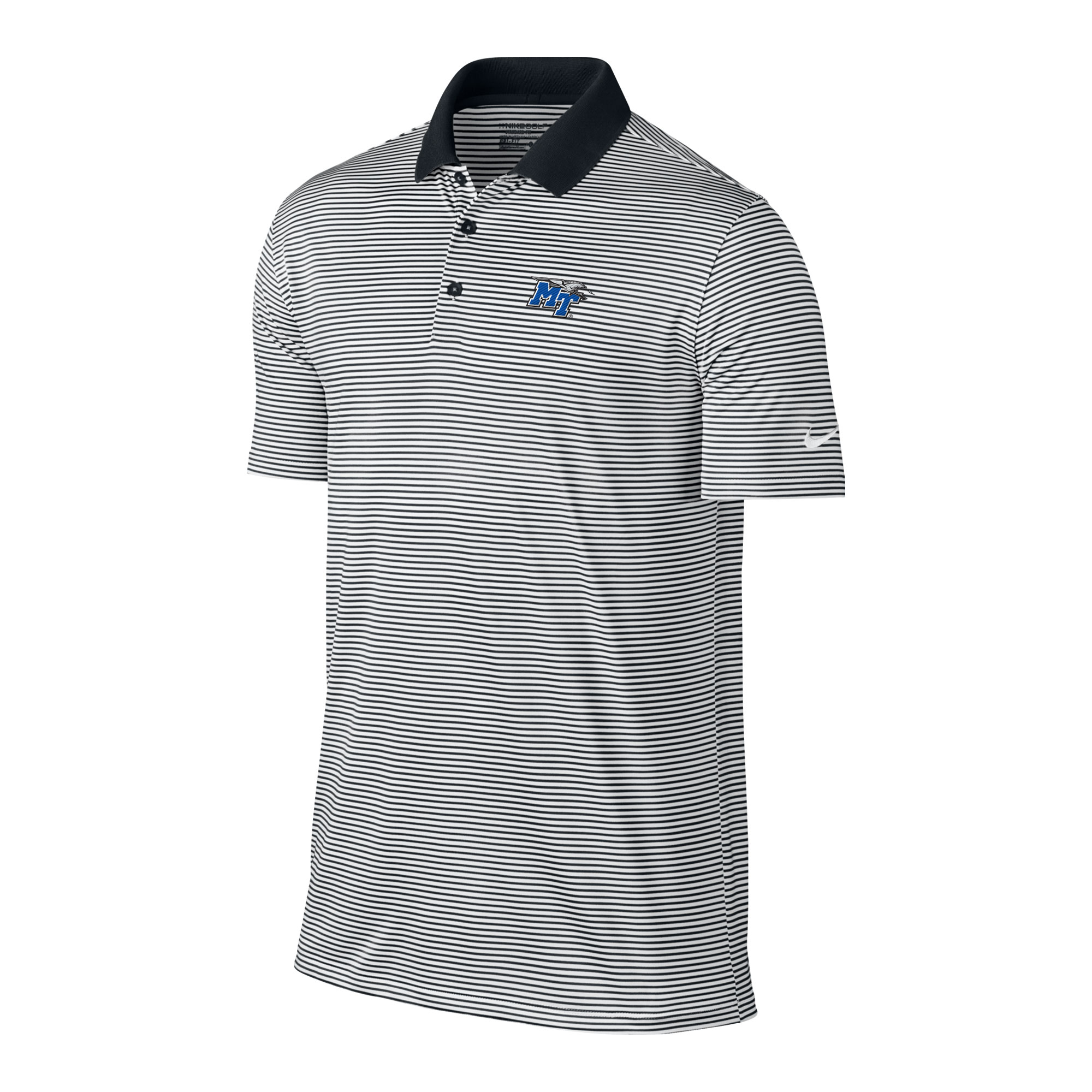 MT Logo w/ Lightning Victory Mini Stripe Nike® Polo