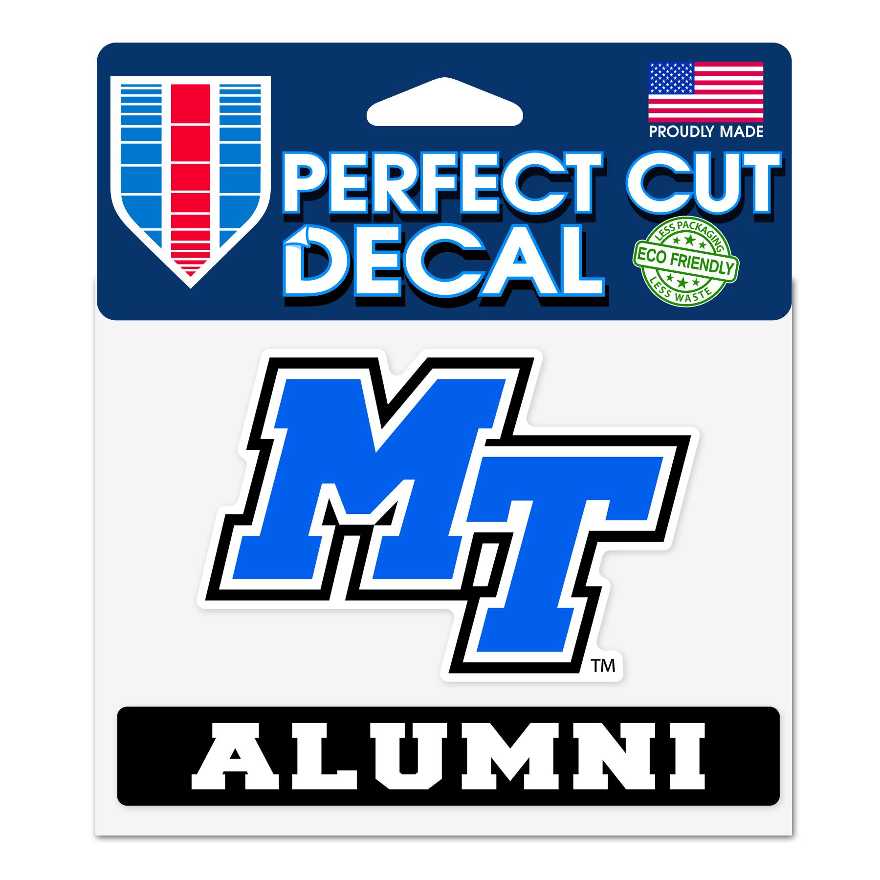 MT Alumni Slogan Decal