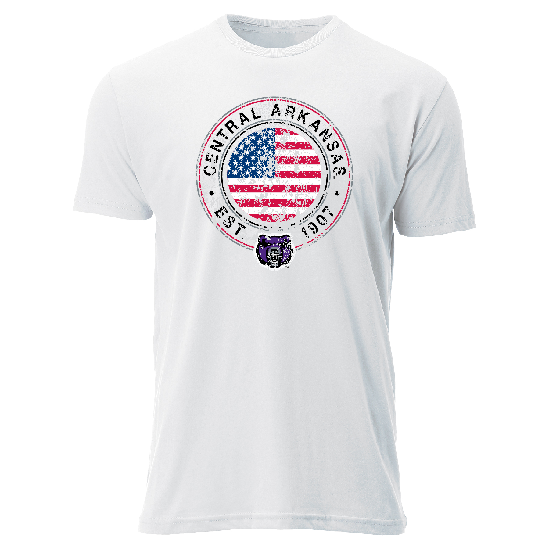 Spot On Flag Sueded Tee