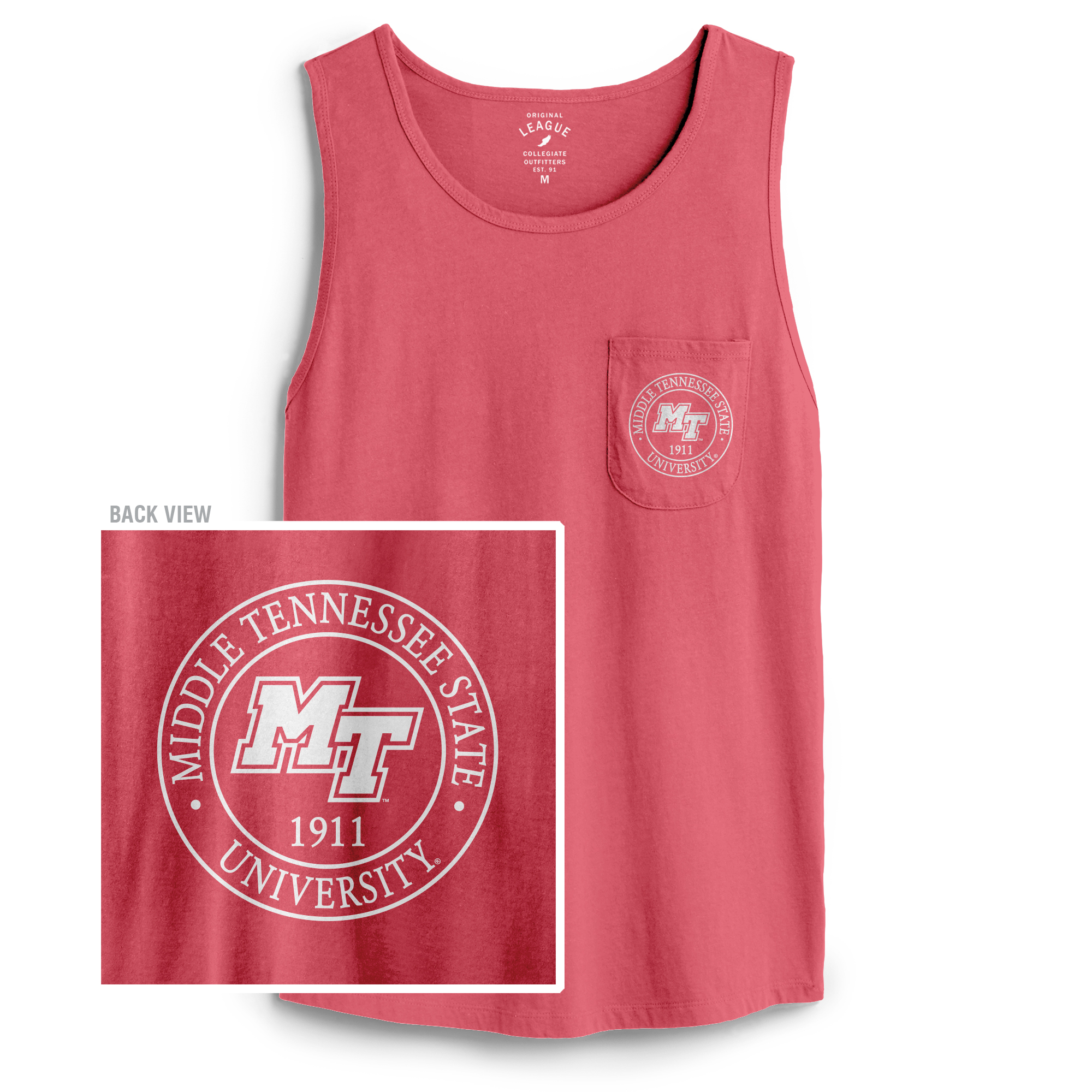 Middle Tennessee Est. 1911 Women's Campus Pocket Tank