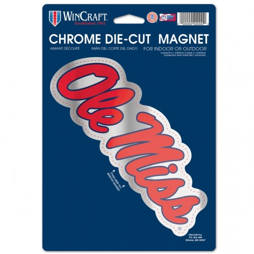 Chrome Die-Cut Magnet 7.5 x 2.5