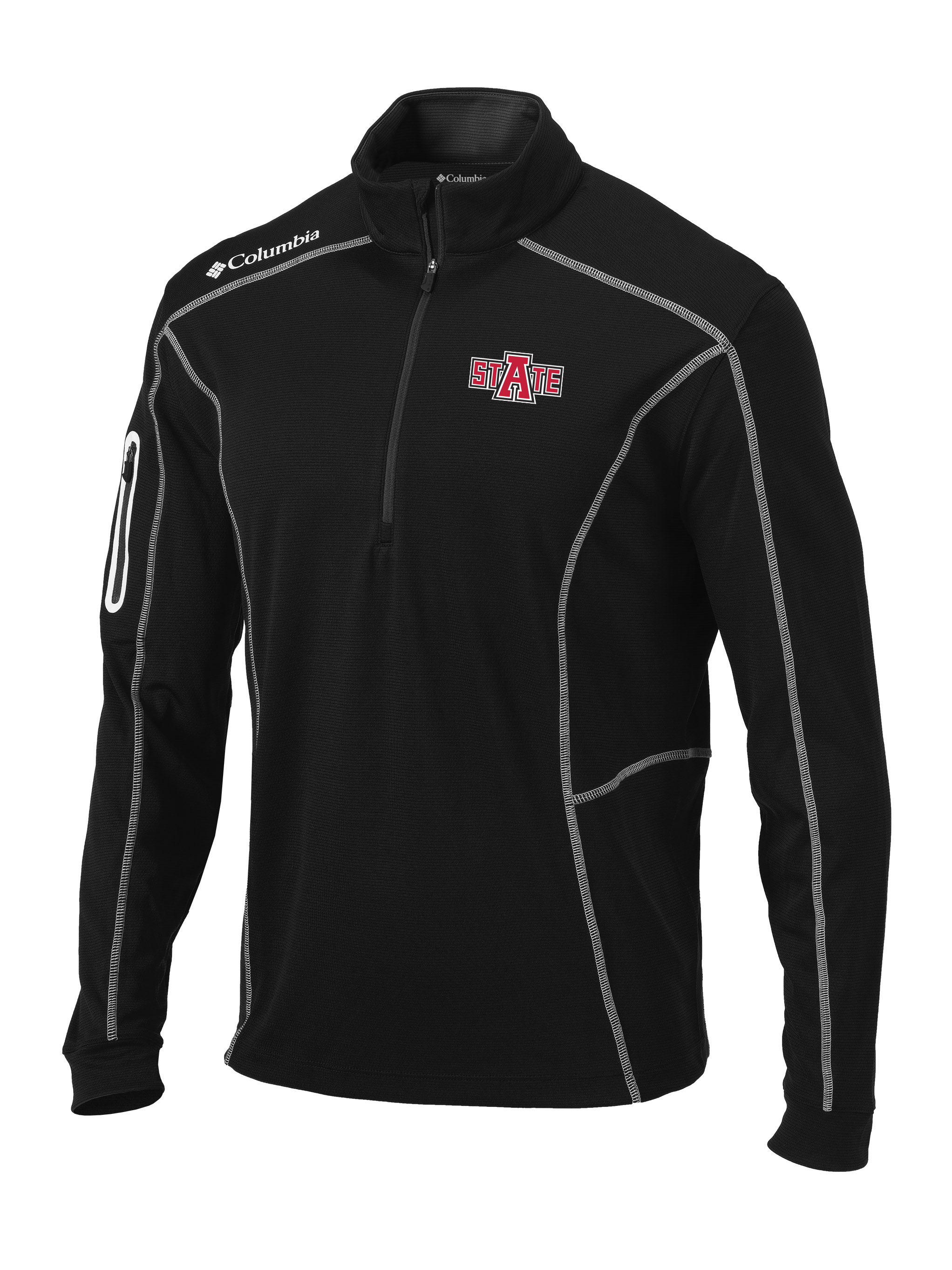 Arkansas State Shotgun Golf 1/4 Zip