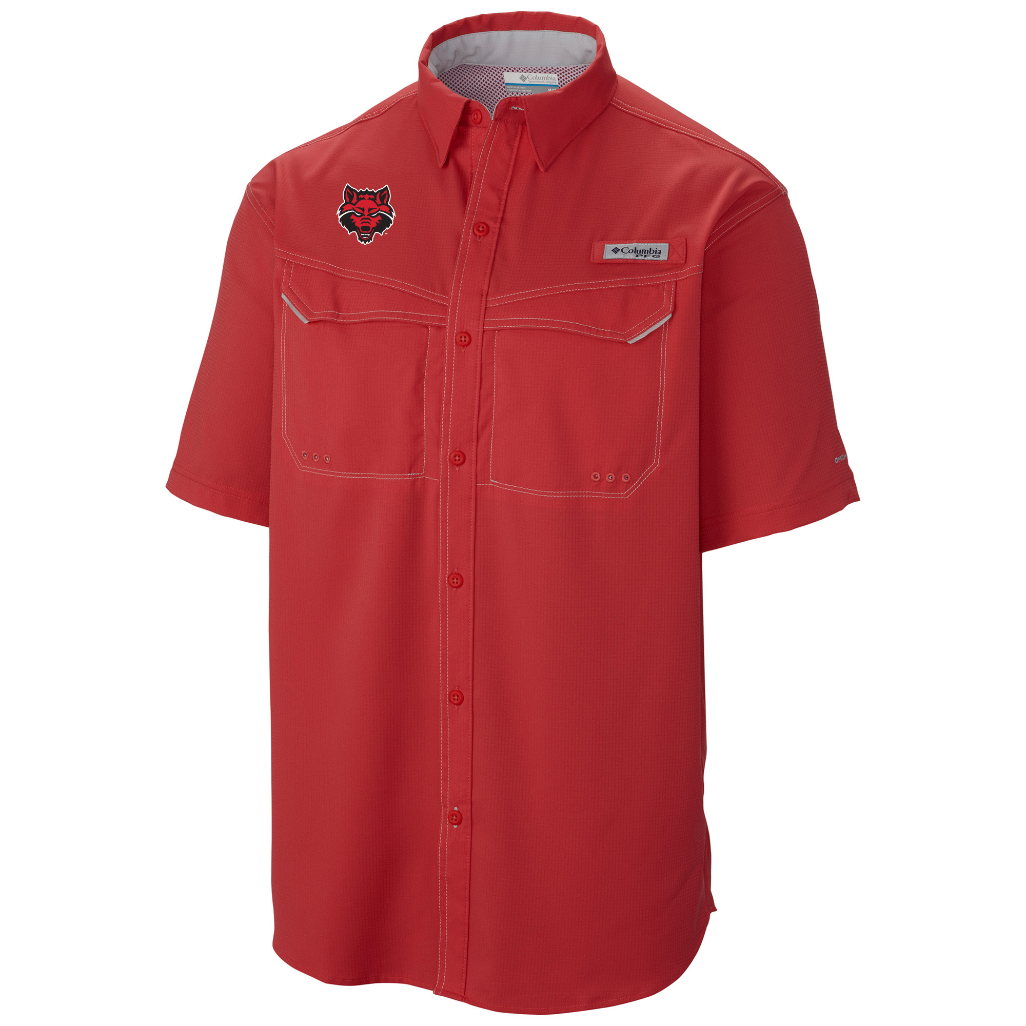 Red Wolves PFG Low Drag SS Shirt