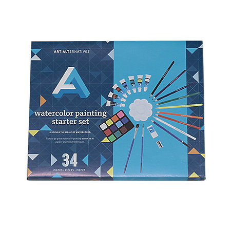 Acrylic Painting Starter Set 21pc