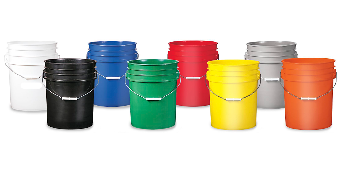 Plastic Pail One Gallon
