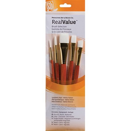 Real Value Short Handle Brush Set/5 9151
