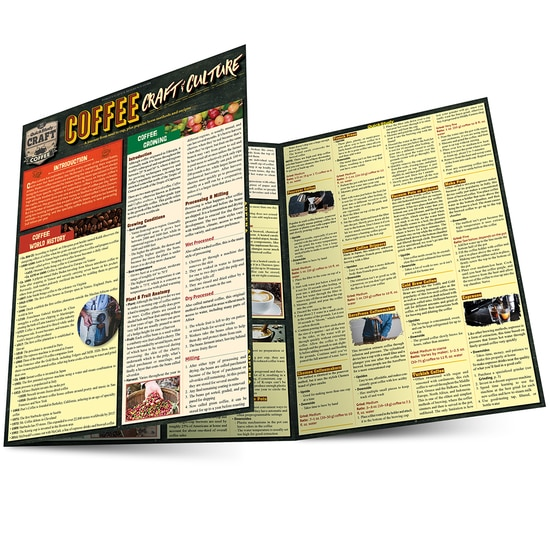 QuickStudy Coffee: Craft & Culture Laminated Reference Guide