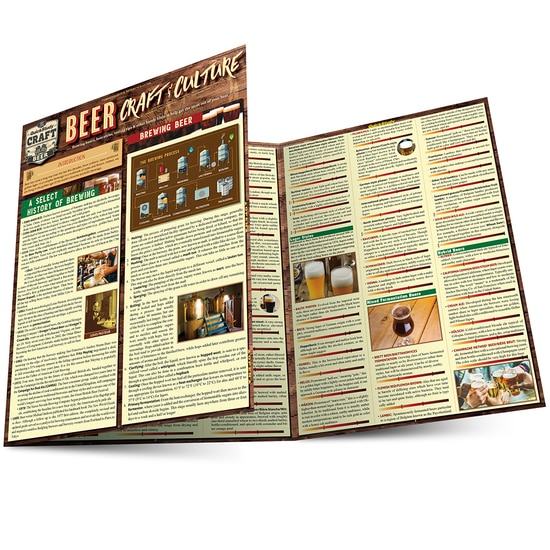 QuickStudy Beer: Craft & Culture Laminated Reference Guide