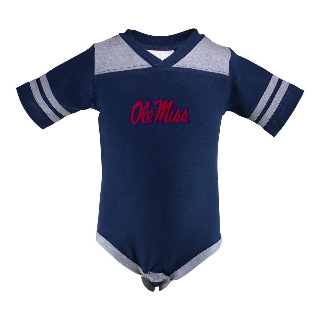 Infant Football Creeper Navy