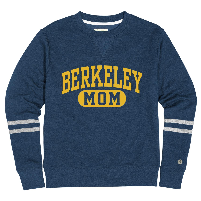 """University of California Berkeley Pullover Rosaura Fleece """"Mom"""""""