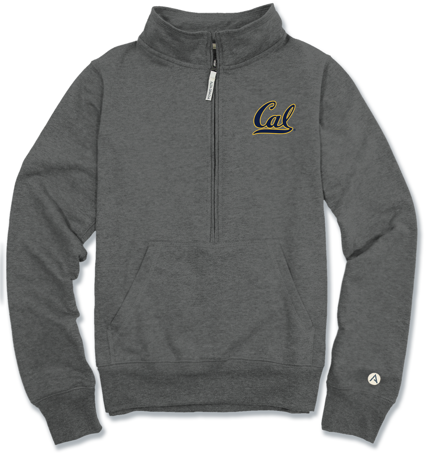 "University of California Berkeley Lidia 1/2 Zip Fleece ""Cal"""