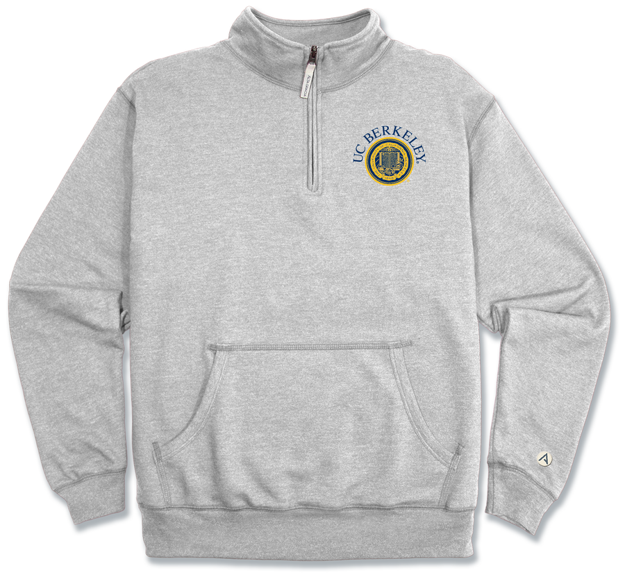 "University of California Berkeley Domingo 1/4 Zip Fleece ""Berkeley"""