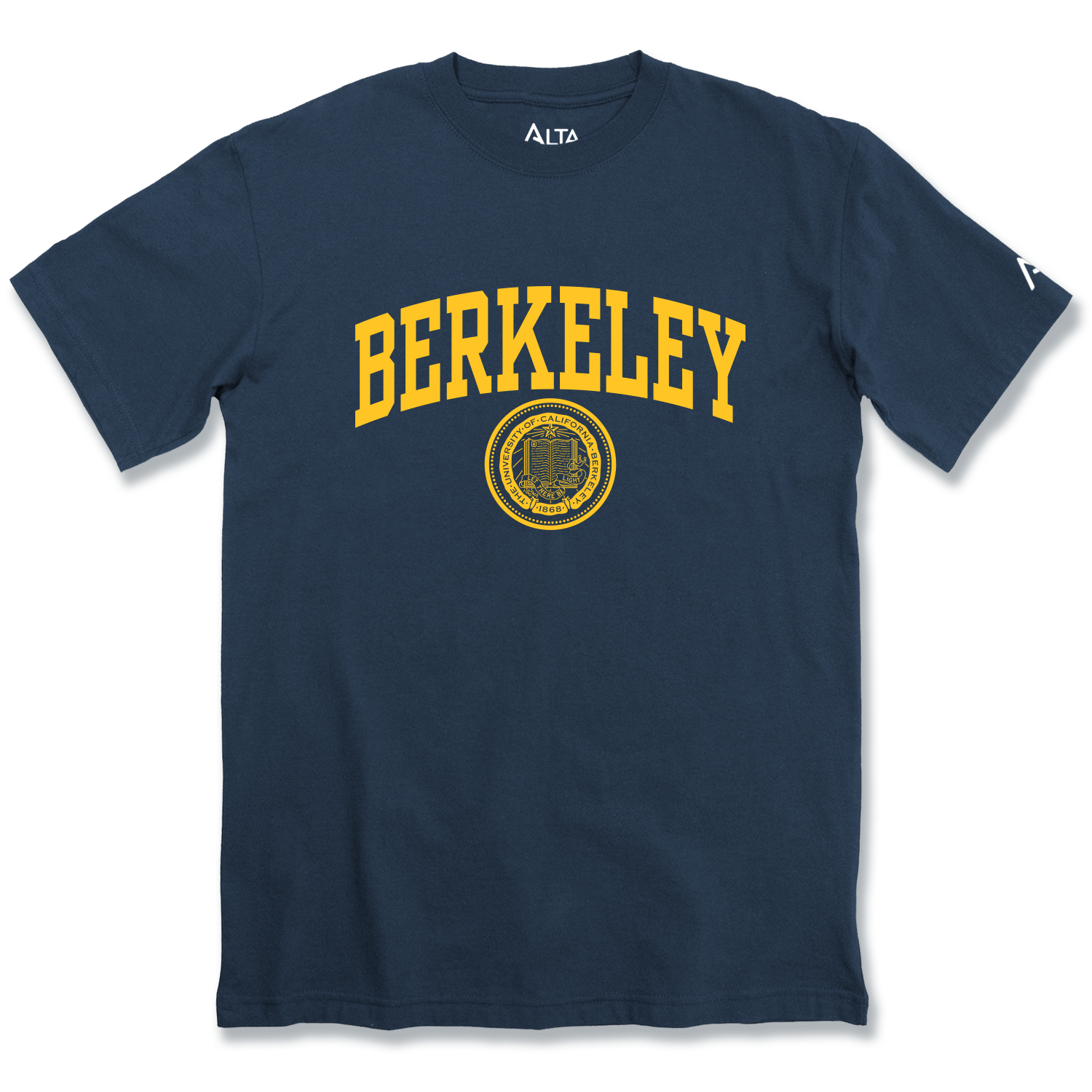 MD25-Cal Bears Alta Gracia Crew Neck Tee Berkeley Seal