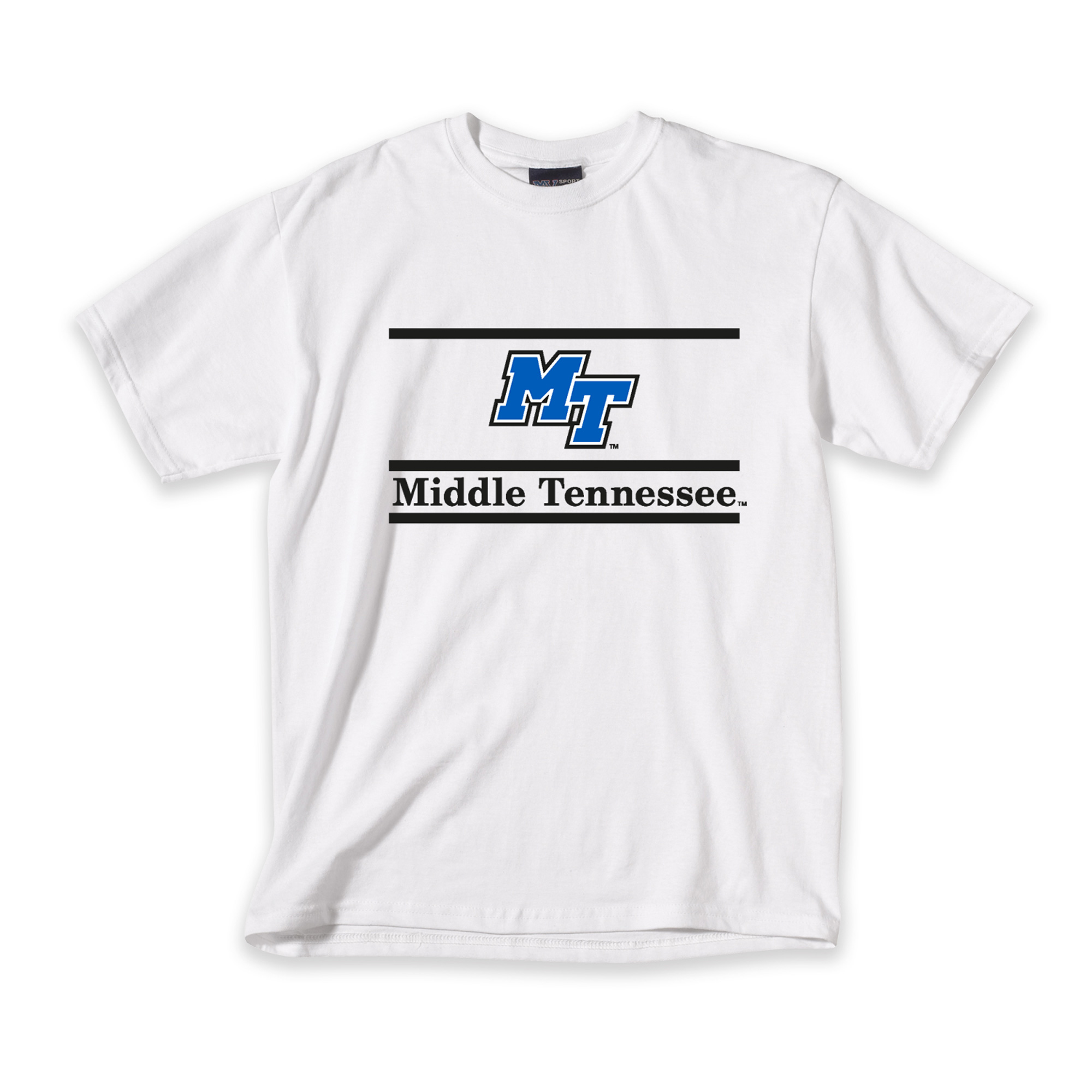 MT Logo Middle Tennessee Bar Design Tshirt
