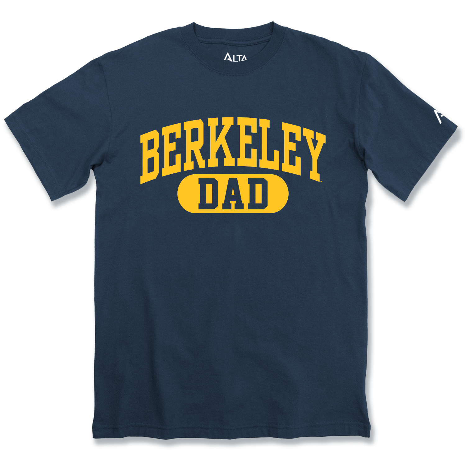 "University of California Berkeley Crew Fit Tee ""Dad"""