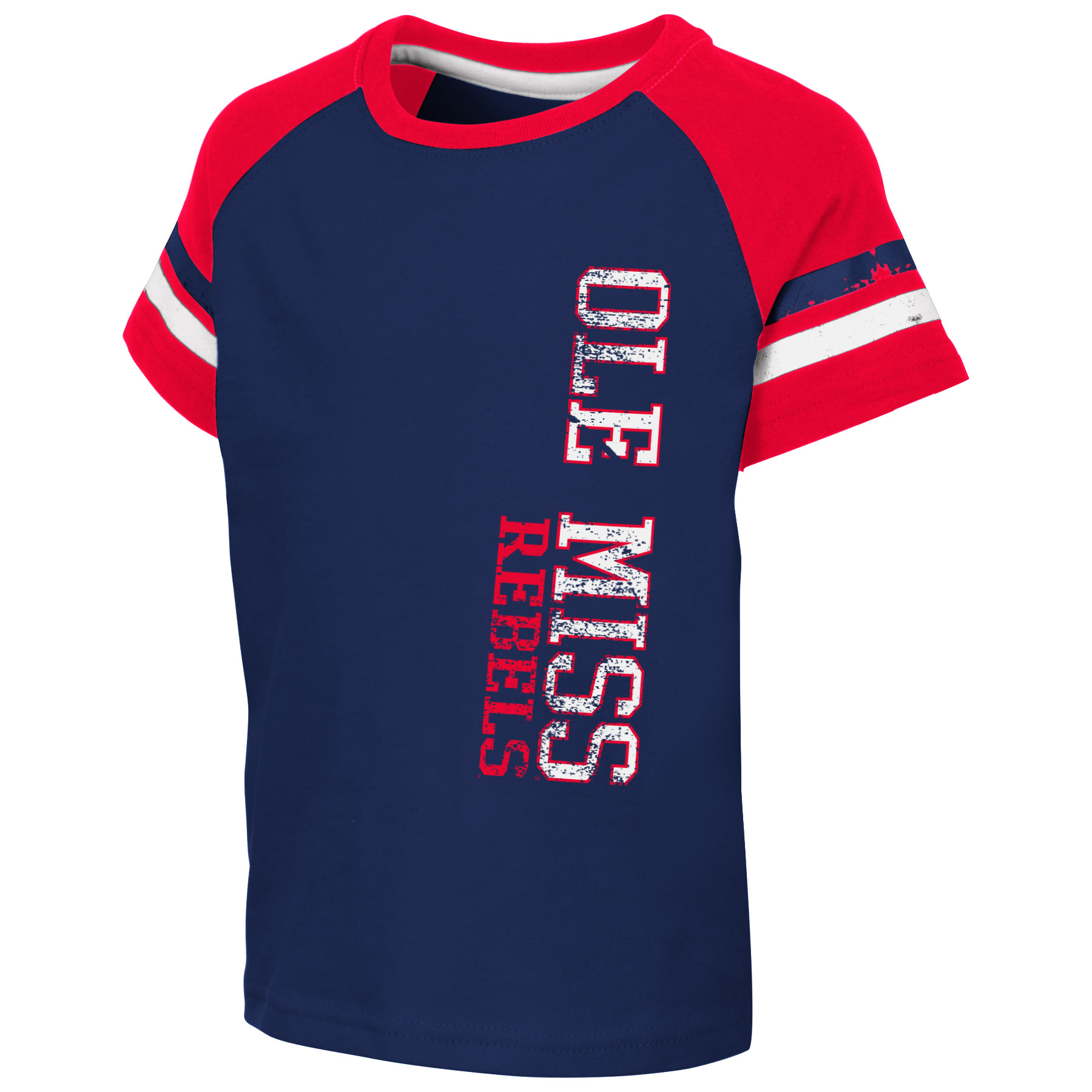 Toddler Ole Miss Vertical Tee