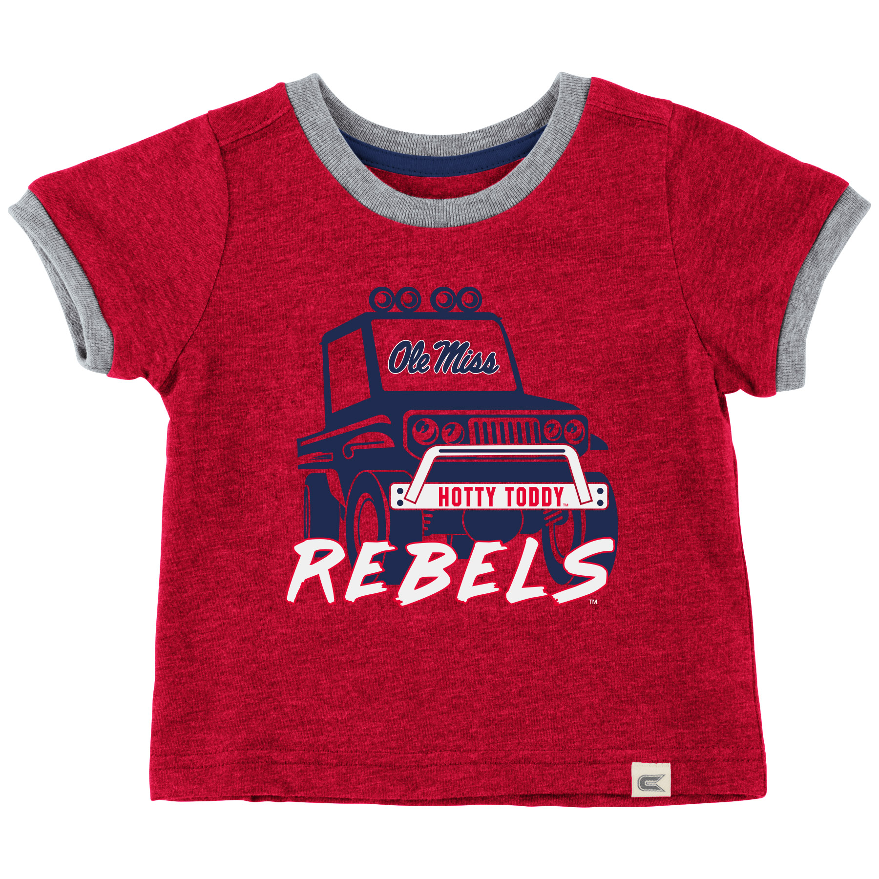 Infant Red Mud Flap Truck Tee