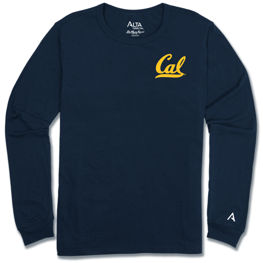 "University of California Berkeley Long sleeve Crew ""Cal"""