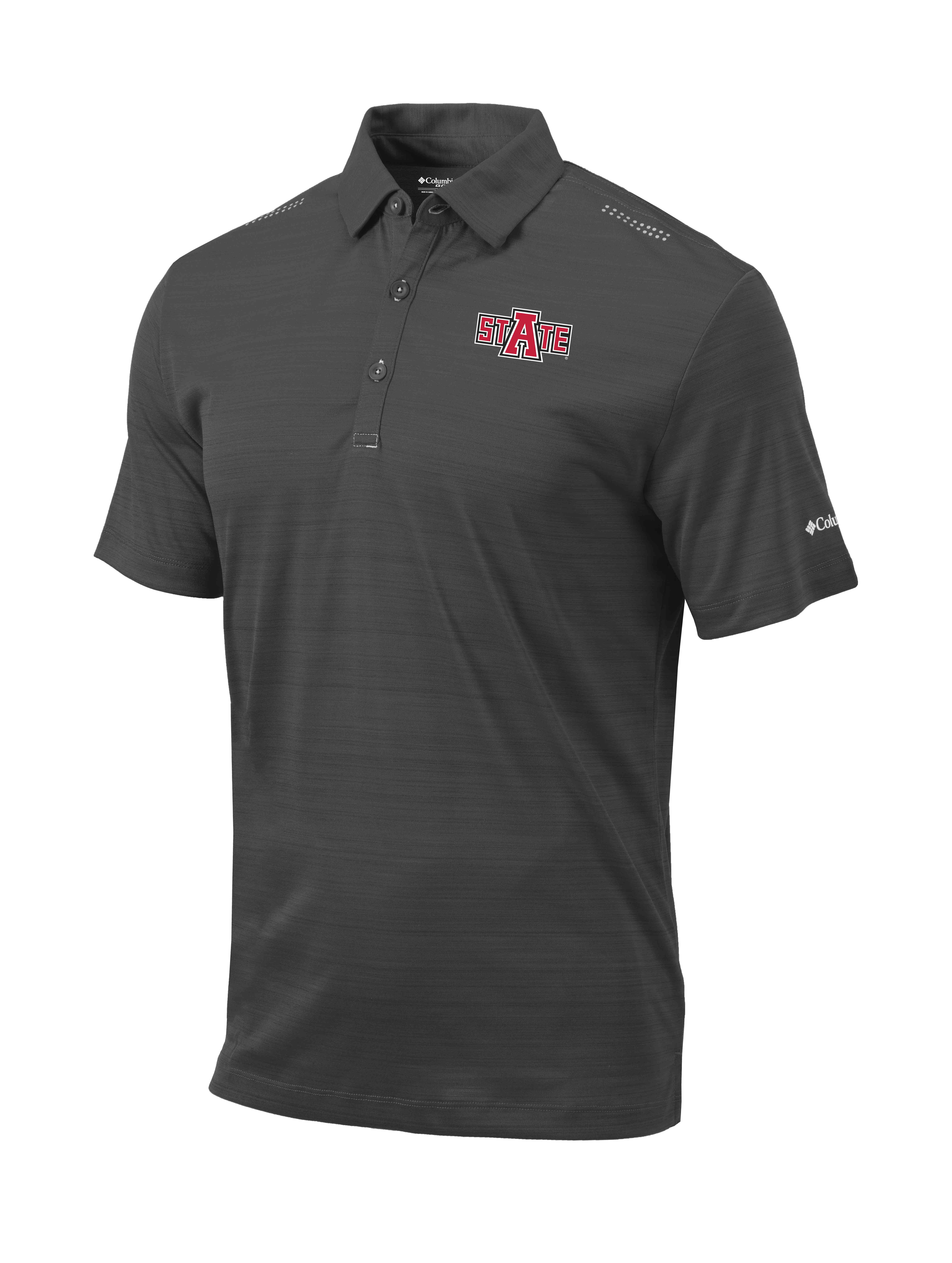 Red Wolves Omni-Wick Printed Dot Polo