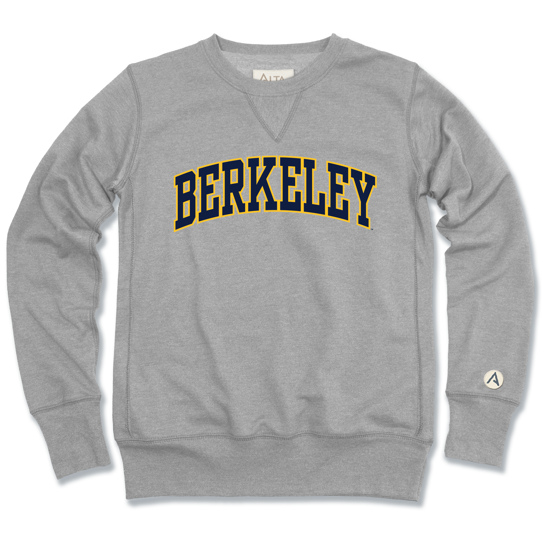 "University of California Berkeley Juan Crew Neck Fleece ""Berkeley"""