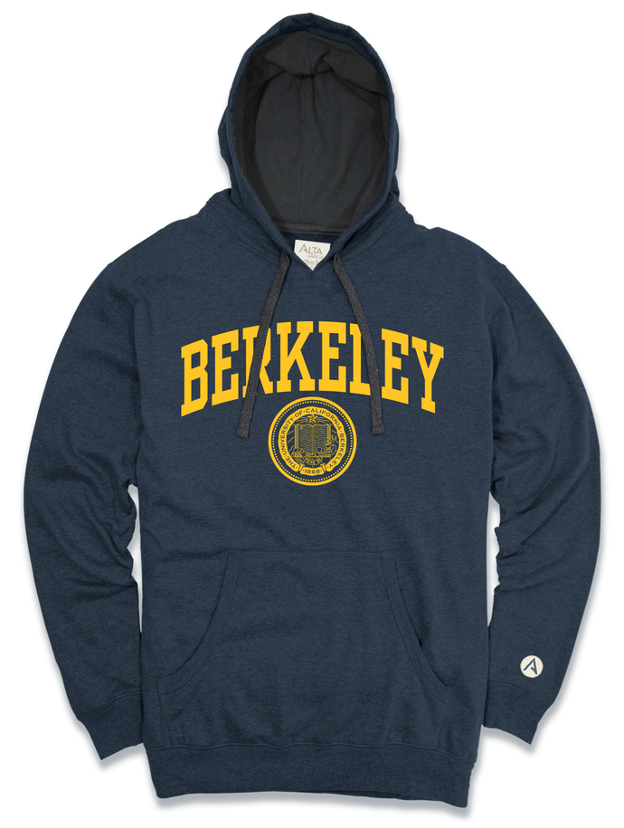 "University of California Berkeley Pablo Pullover Hood ""Berkeley"" with Seal"